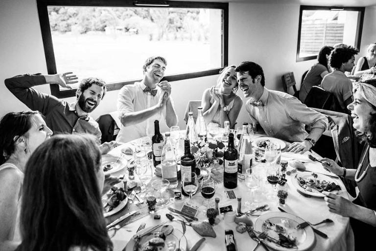Repas de mariage vannes