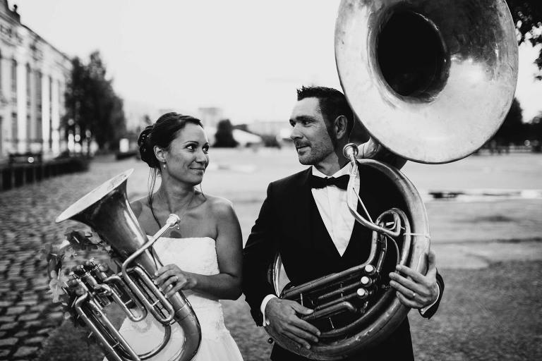 mariage cuivre musique